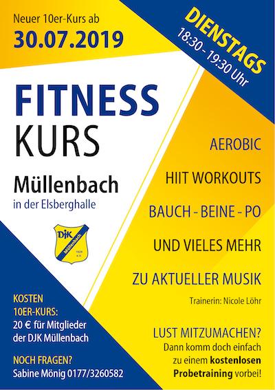 Flyer Fitness Kurs